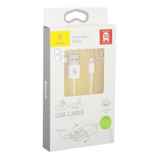 USB кабель Baseus Cable CAAPIPH5-02B1 Apple 8 pin 1M (белый)