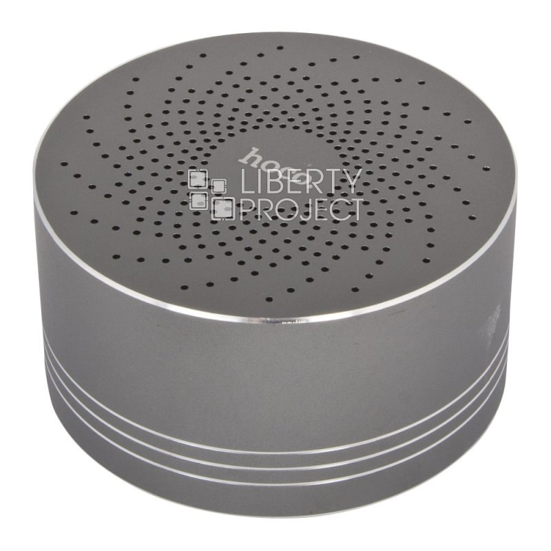 Bluetooth колонка HOCO BS5 Swirl Wireless Speaker USB/MicroSD 3 Вт (серая)